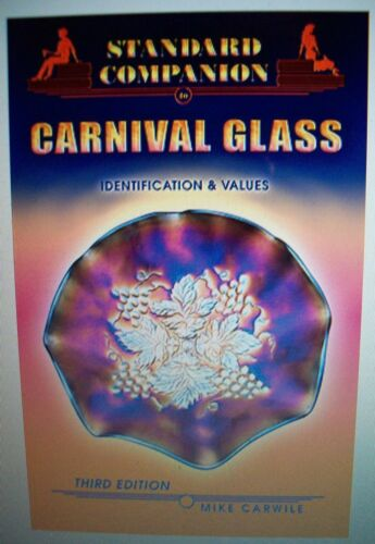 NEW CARNIVAL GLASS $$$ PRICE GUIDE Collector