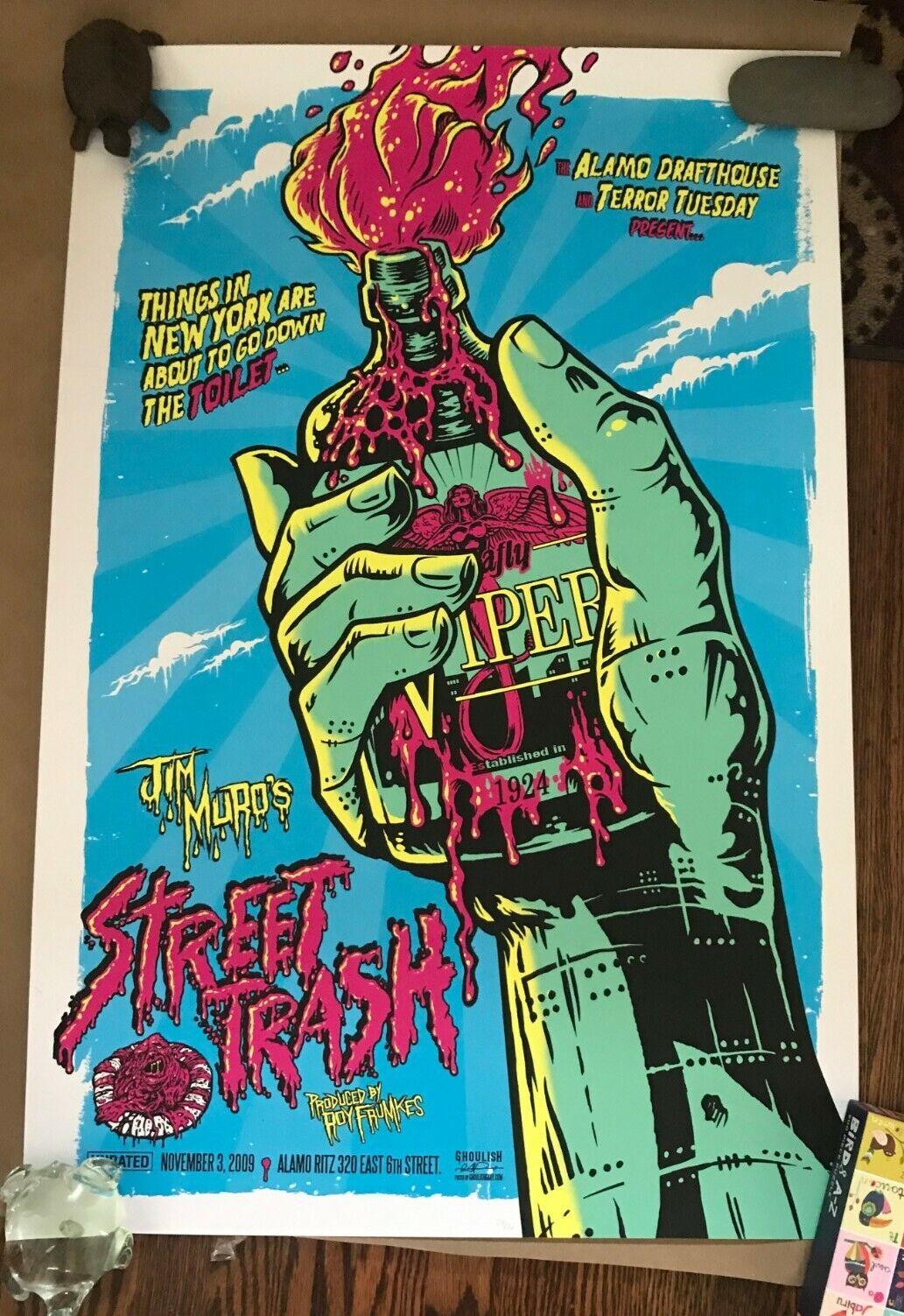 Mondo Print Gary Pullin - Street Trash Rare - $110.00