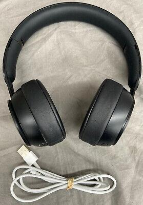 Beats Solo Pro Wireless Noise Cancelling On-Ear Headphones-Black-Free USPS Ship!