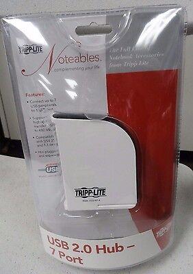 New Sealed Tripp Lite TrippLite USB 2.0 Hub 7 Port 7-Port U222-007-R