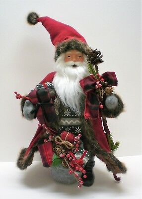 Clearance!  Large Santa Claus Figurine 26