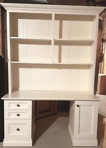 Custom made desk / hutch