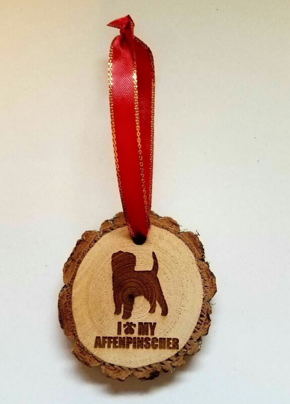 I Love My Affenpinscher Dog Ornament Pet Lover Keepsake Gift Christmas