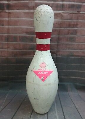 c1f971eb9 OFFICIAL AMF BOWLING PIN AMFLITE II ABC APPROVED PLASTIC COATED USA.