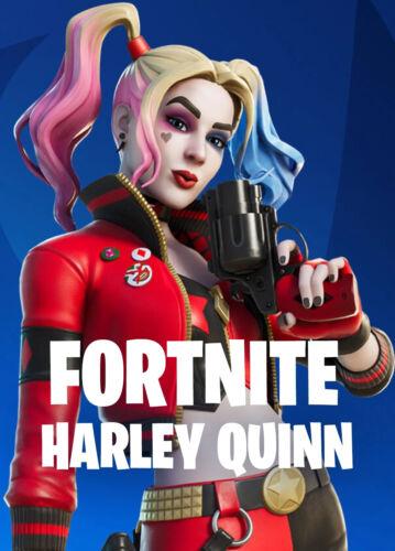Fortnite Harley Quinn Rebirth Skin Code Fast Delivery