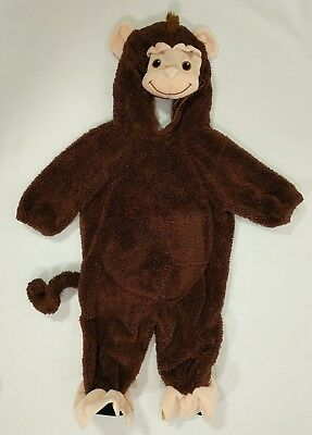 Miniwear Monkey Costume Size 6 9 Months Brown Halloween Dress Up Gift For - Halloween Costumes For 6 9 Months