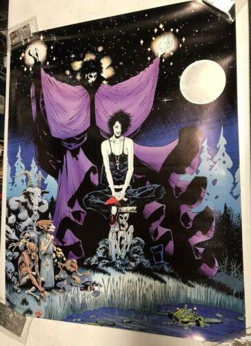Sandman Poster by Neil Gaiman Death Artist Kelly Jones DC Comics 1991 JW606