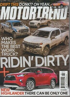 Motortrend June 2019 Ridin' Dirty /Who Makes the Best Worst (The Best Truck 2019)