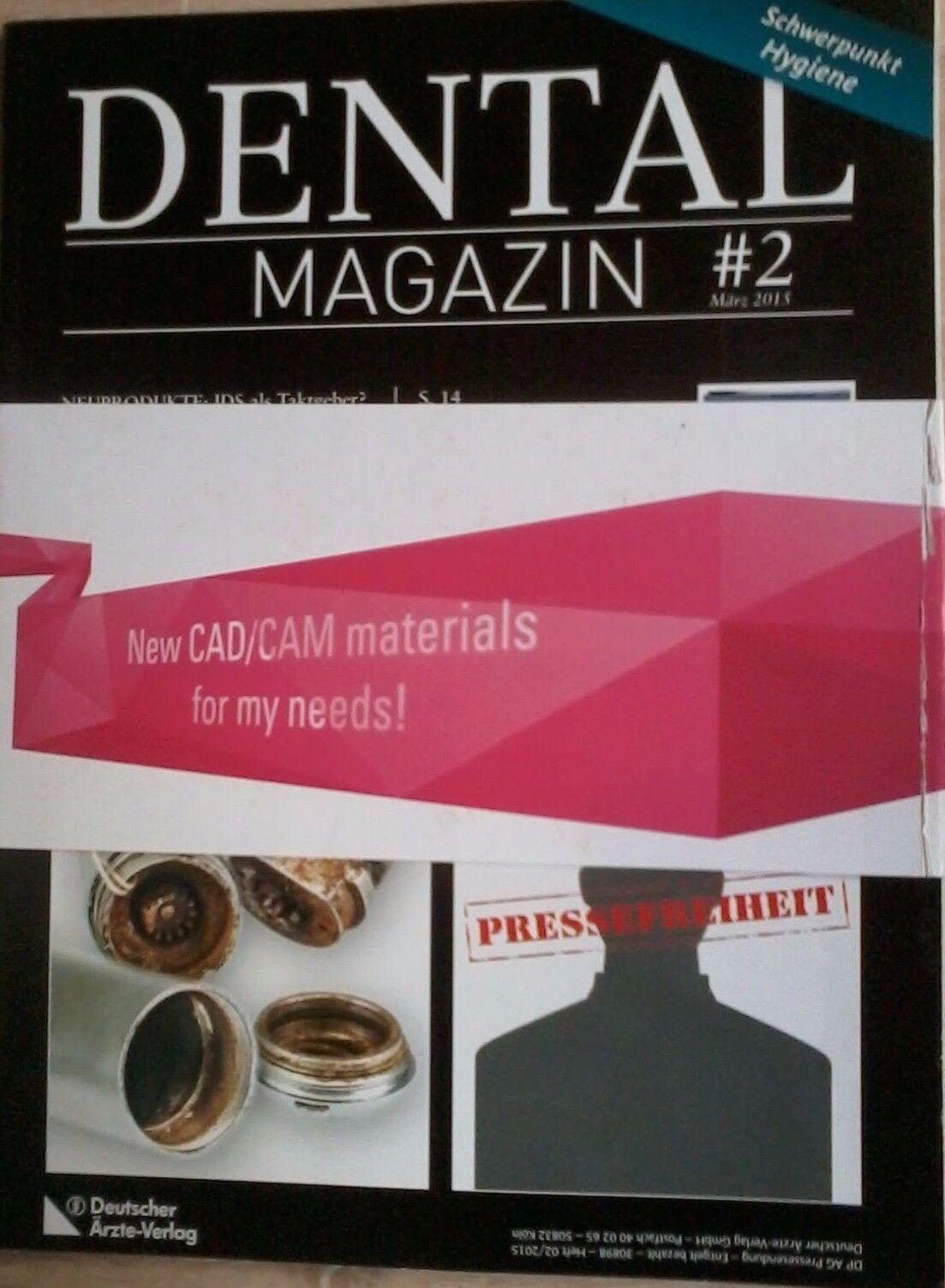 Dental Magazin #2 März 2015 Schwerpunkt Hygiene Endodontie:Stiftaufbau