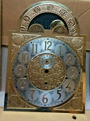 VINTAGE KEININGER DIAL - GRANDFATHER CLOCK - Moon Dial - NOS