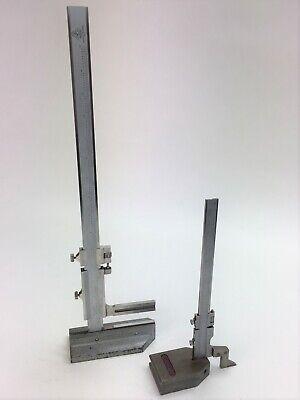 Etalon 18 Unmarked 10 Vernier Surface Height Gage Set 0-15 0-6