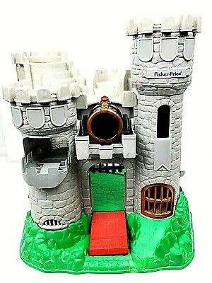 VTG 1994 Fisher Price Great Adventures 7110 Medieval Knights Castle Only AS-IS