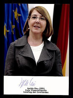 Isolde Ries Foto  Original Signiert Politik +G 16224