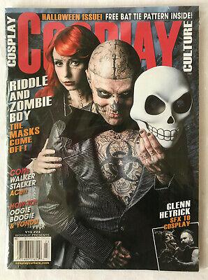 Halloween Boogie Book (Cosplay Culture Magazine Halloween Issue #23 Zombie Boy Oogie Boogie SFX)