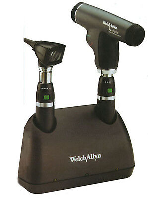 Welch Allyn Opthalomoscope Otoscope Desk Charger Set Wa-71811mps