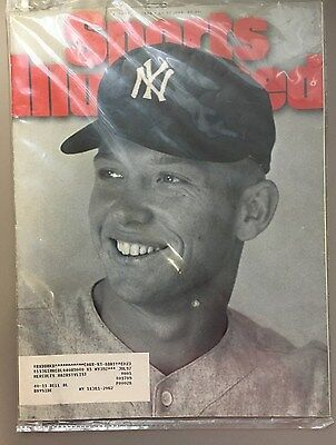 Sports Illustrated Magazine August 21, 1995 Mickey Mantle