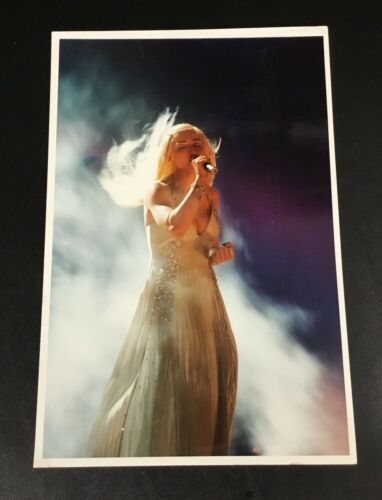 Original 1995 Madonna Press Photo Wire Vintage Rare Color Photograph Brit Awards