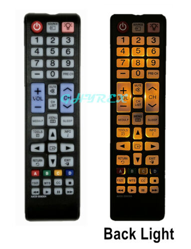 New Usbrmt Tv Remote Aa59-00600a With Backlight For Samsung Smart Lcd Led Tv