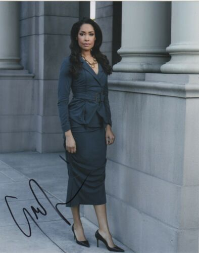 Gina Torres Suits Autographed Signed 8x10 Photo COA EF610