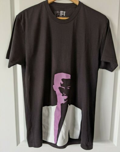 Grace Jones Train of Thought black t-shirt Large
