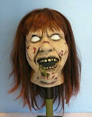 THE EXORXIST Movie~ REGAN Scary Halloween Costume Fancy Dress MASK LINDA BLAIR