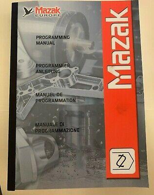 Mazak Programming Manual For Mazatrol M-32 Pub H731pa0500e M100