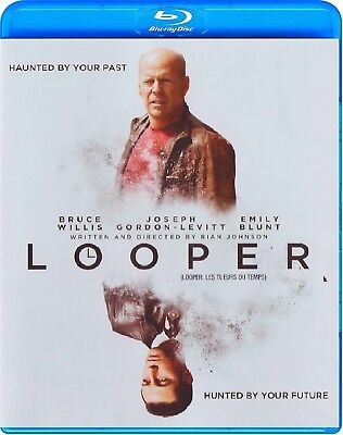Looper  Bruce Willis   New Blu Ray