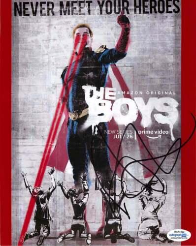 *HOMELANDER* Antony Starr Signed Autographed 'The Boys' 8x10 Photo Proof ACOA C