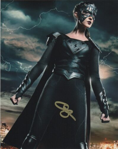 Odette Annable Supergirl Autographed Signed 8x10 Photo COA EE144