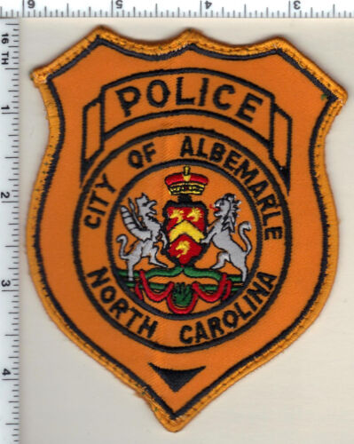 City of Albemarle Police (North Carolina) 2nd Issue Uniform Take-Off Patch