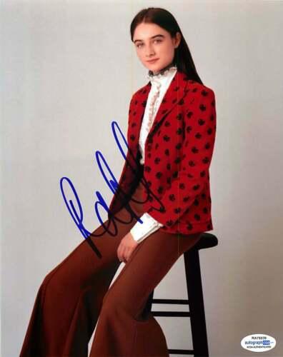 Raffey Cassidy Signed 8x10 Photo *The Other Lamb* Proof ACOA B
