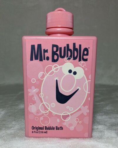 Mr Bubble Original Bubble Bath Pink Retro 8oz Factory Sealed