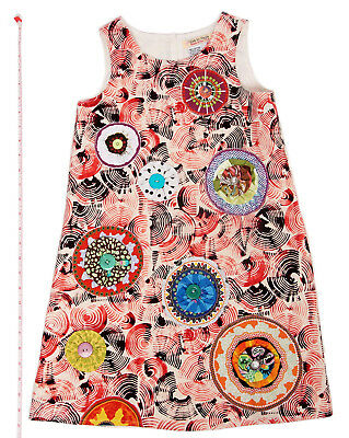 Childrens Designer Boutique (Designer Boutique Style Little Girls Size 6 Colorful Print Dress with)