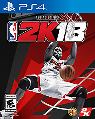 NBA 2K18 Legend Edition (PS4, 2017) Brand New Factory Sealed