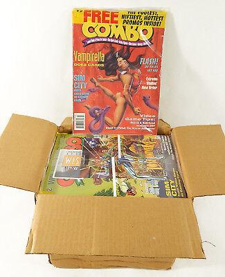 Case of (40) Combo Non-Sport Trading Card Magazine #2 (March 1995) Sim City