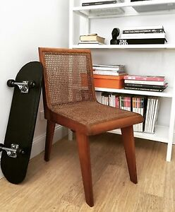 :: CANE RATTAN WOOD CHAIR VINTAGE Naremburn Willoughby Area Preview
