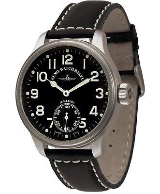Zeno Watch Basel Oversized  Pilot Winder 8558-6-a1 Zeno New Pilot