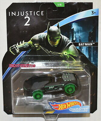 HOT WHEELS 2018 DC COMICS INJUSTICE 2 BATMAN CHARACTER CARS