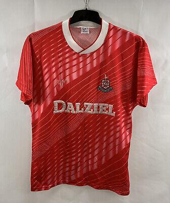Airdrieonians Away Football Shirt 1990/92 Adults Medium Ribero B345 image