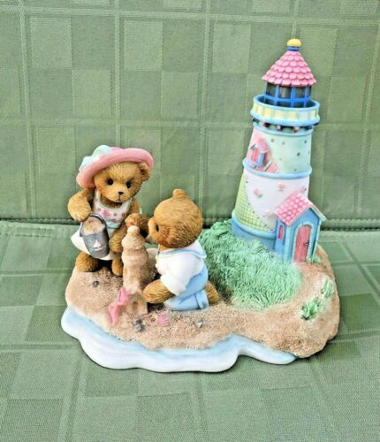 Cherished Teddies Lighthouse A Little Faith Fills You With Love 4003588