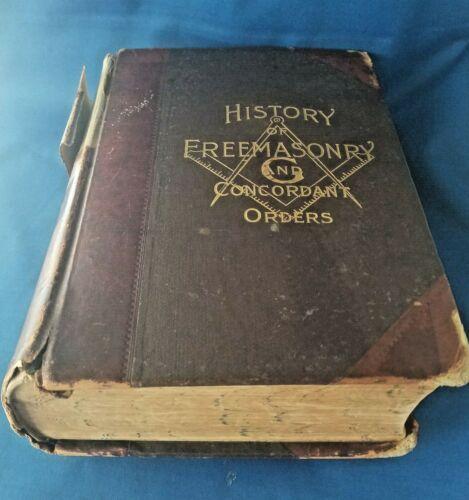 History Of Freemasonary And Concordant Orders-London-1902-Free & Accepted Masons