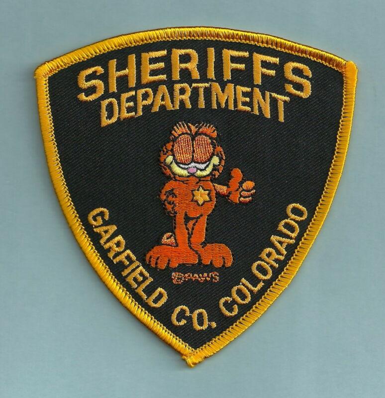 GARFIELD COUNTY SHERIFF COLORADO SHOULDER PATCH CAT