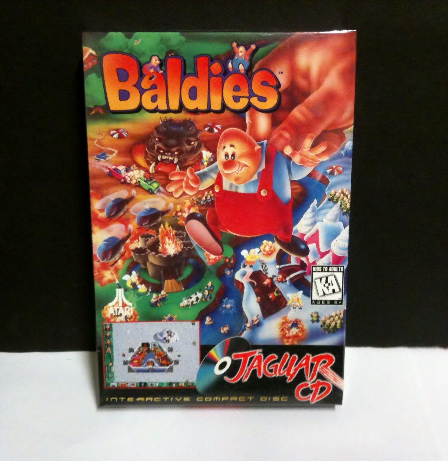 Game Factory Factory Sealed Baldies Game For Atari Jaguar...