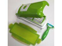 B-Ware Genius Nicer Dicer Plus grün 8-teilig