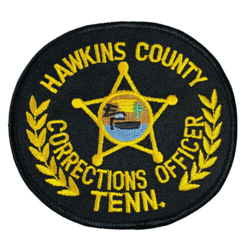 Hawkins County Corrections Officer Tennessee TN DOC Correctional Jail Patch A6