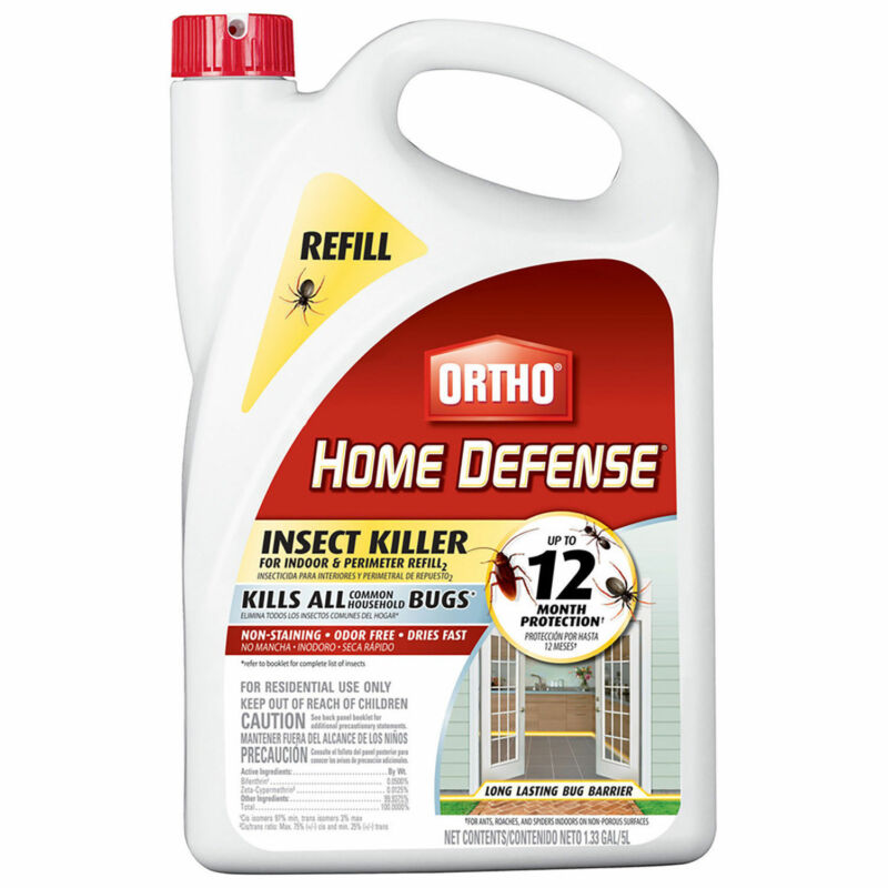 Ortho Home Defense Insect Killer indoor & Perimeter Refill 1.33Gal Bottle