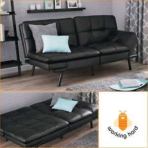 Leather Sleeper Sofa eBay