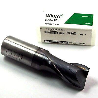 Widia Hanita Cobalt End Mill 1 2fl Ticn Tc120225008 Usa
