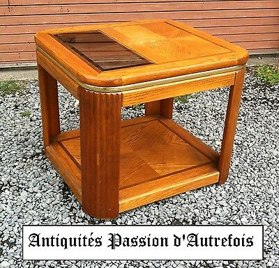 M201753 - Table basse de salon en chêne - Très bon état