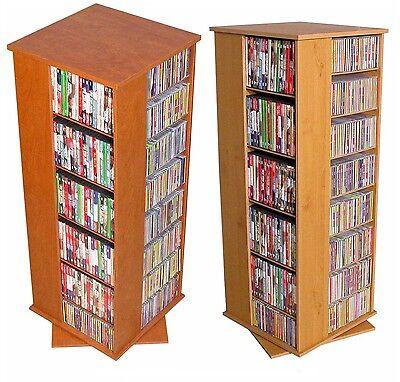 Floor Cd / Dvd Storage (928 CD 416 DVD 532 Blu-rays Floor Spinner Storage Tower Rack -)